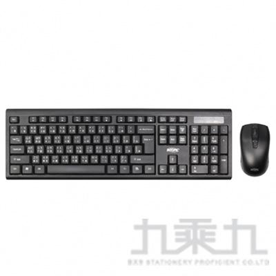 INTOPIC 2.4GHz 無線鍵盤滑鼠組合包 KCW-938