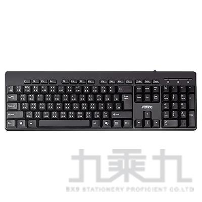INTOPIC KBD-80 USB標準鍵盤