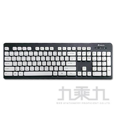 Beauty水靈鍵可水洗鍵盤-灰