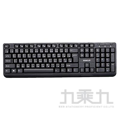 SANLUX USB鍵盤 SYKB-08