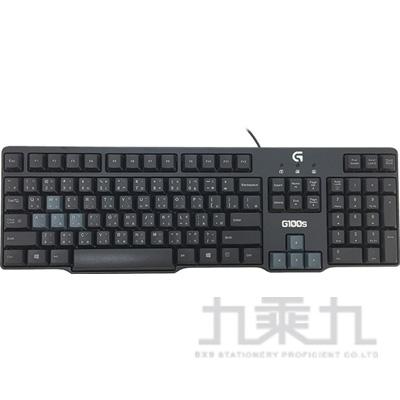 羅技G100s遊戲滑鼠鍵盤組 920-005507
