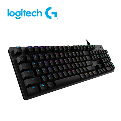 羅技 Logitech G512機械式電競鍵盤-GX觸感軸
