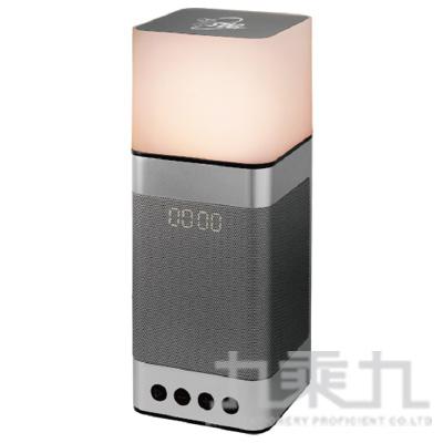 插卡/鬧鐘多功能觸控燈藍牙喇叭(鐵灰)TCS1140GR