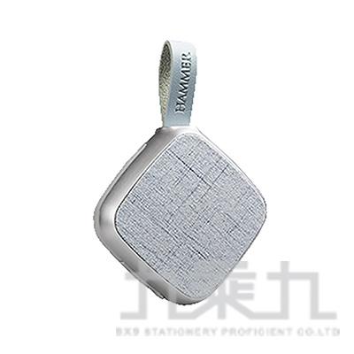 INTOPIC BT176震撼音質藍牙喇叭(銀)