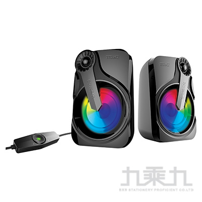 TITAN 2 炫彩USB 2.0多媒體音箱