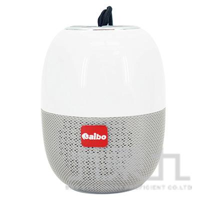 AIBO多功能隨身攜帶式無線藍芽V5.0喇叭-灰色