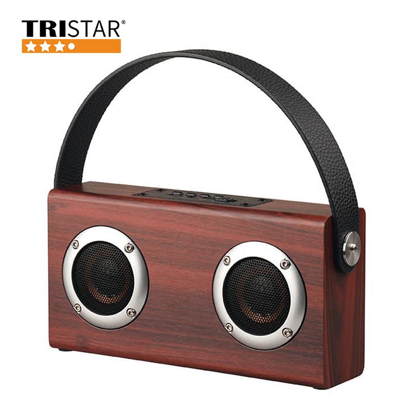 高音質手提式木質藍芽喇叭 TS-C455