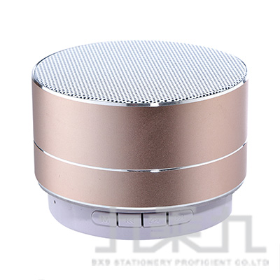 愛迪生圓型重低音迷你藍芽喇叭 EDS-C431