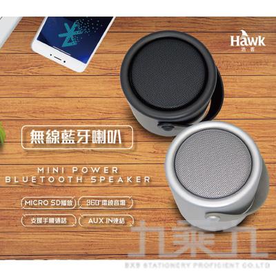 Hawk Mini POWER無線藍牙喇叭-銀 08-HAS230SL