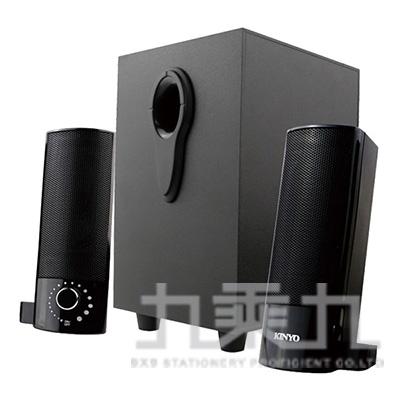 KINYO USB2.1百變多媒體音箱 US-330