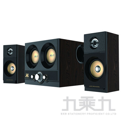 JS烈日雙雷2.2電競3件式多媒體喇叭 AAD-SKJJY3252BR