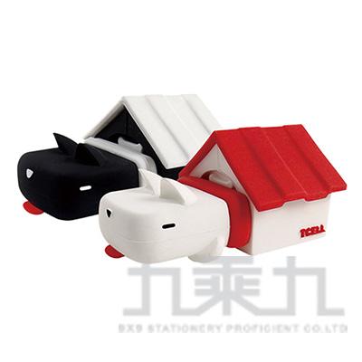 TCELL 冠元 造型碟USB2.0 16GB Home狗屋系列-黑白卓別林