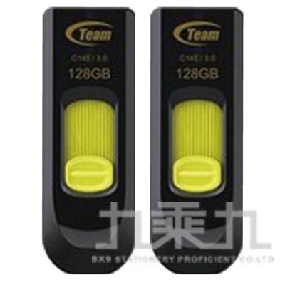 0@Team十銓科技128GB USB3.0高速跑車碟 TC1453128GY0