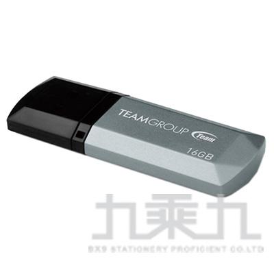 Team十銓科技C153璀璨星砂碟-科技銀-16GB TC15316GS01