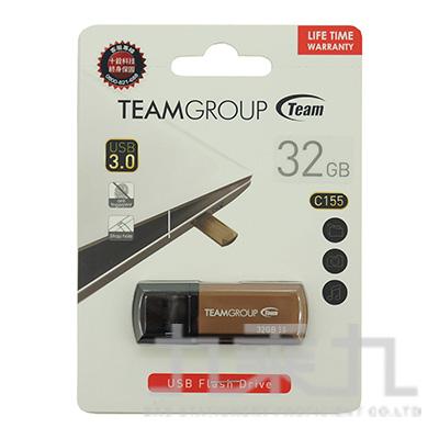 Team USB3.0 C155璀璨星砂碟-琥珀金-32GB
