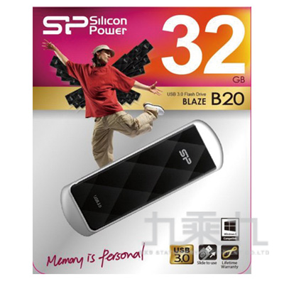 廣穎USB3.0 騎士碟 B20 /32GB