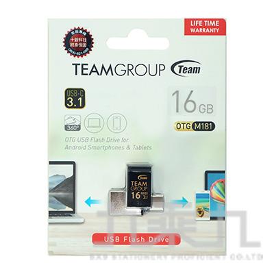 Team USB3.1 TYPE-C OTG隨身碟-16GB