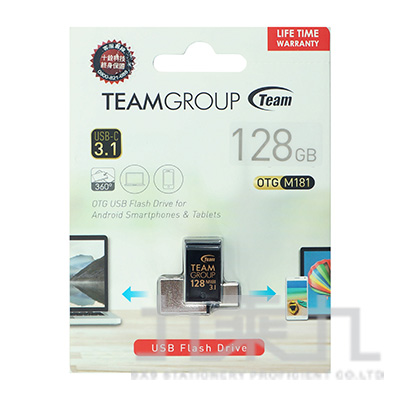 Team USB3.1 TYPE-C OTG隨身碟-128GB