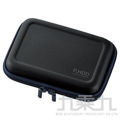 ELECOM 3C配件小物收納包(L)-黑 HDC-SH002BK