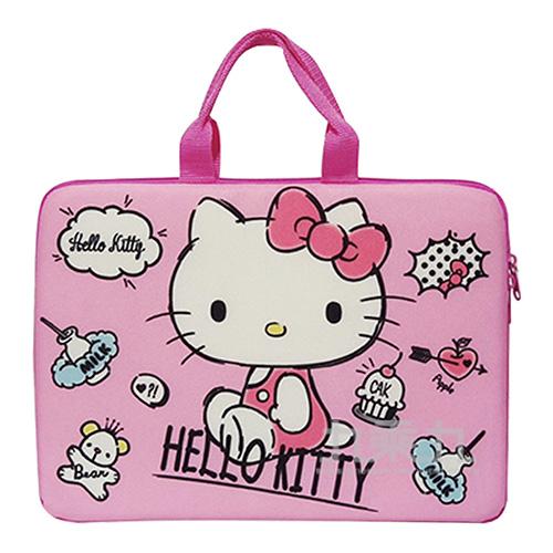 Hello Kitty13吋手提電腦包(款式隨機出貨)