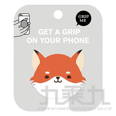 動物氣囊手機支架(狐狸)-簡單生活