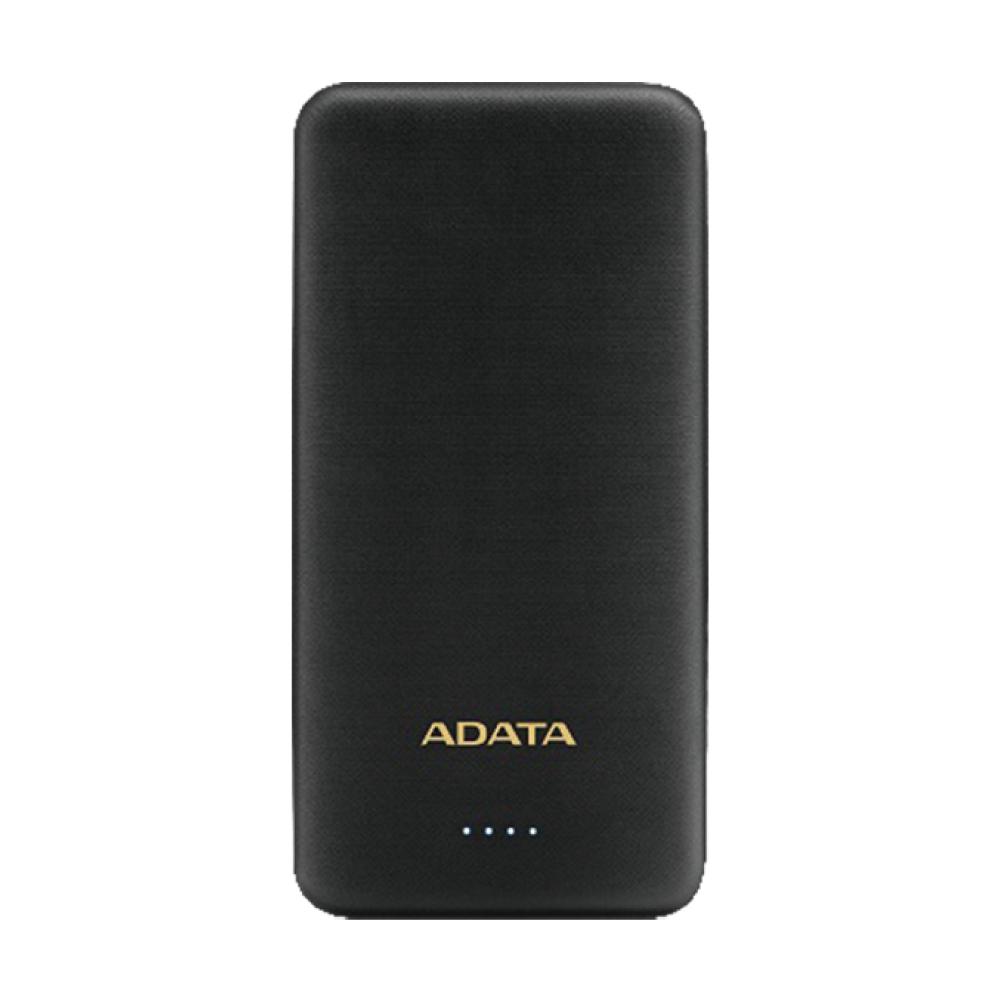 威剛 T10000K 薄型行動電源(黑) 10000mAh