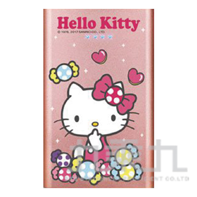 Hello Kitty 12000PLUS歡樂版行動電源-糖果粉