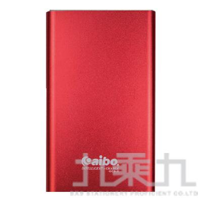 aibo 極速緻美 12000 Plus QC3.0 快充行動電源-紅色