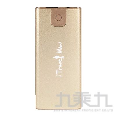 MP60旅行家6000mah行動電源-金 AAD-KTPWUMP60-F