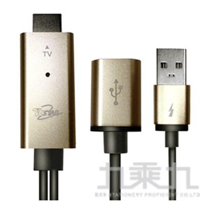 TCSTAR HDMI高畫質影音傳輸線(金) TCW-HD200GD