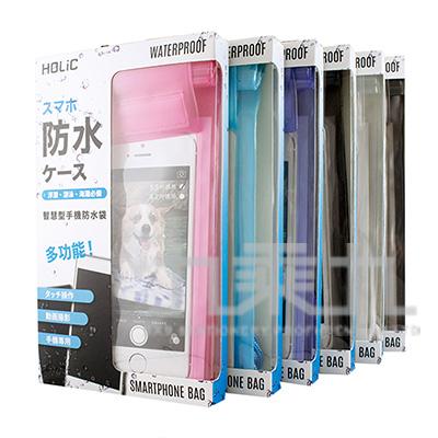 HOLIC智慧型手機三層粉彩防水袋6吋 BG3112