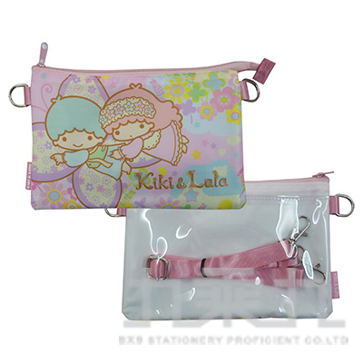 三麗鷗KITTY雙層觸控包-蝴蝶版 D3350035