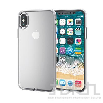 ELECOM iPhoneXS 5.8 透明軟殼