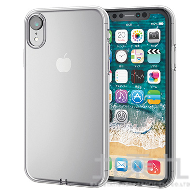 ELECOM iPhoneXR 6.1 透明軟殼