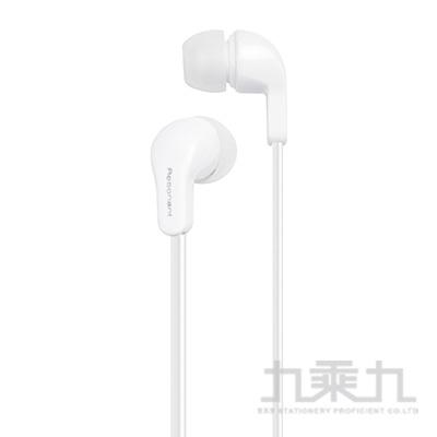 E-books S76經典款音控接聽入耳式耳機-白 E-EPA166WH