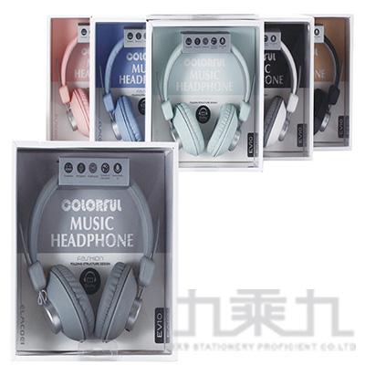 全兼容頭戴式手機耳麥(6色) EV-10