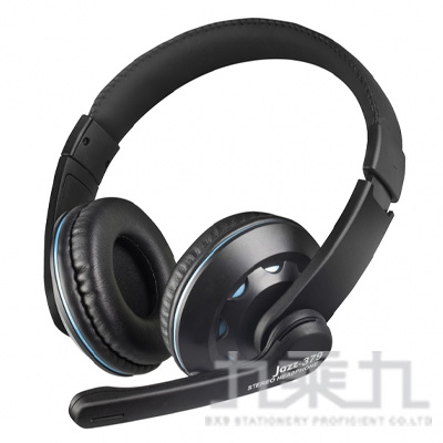 INTOPIC 頭戴式耳機麥克風 JAZZ-379