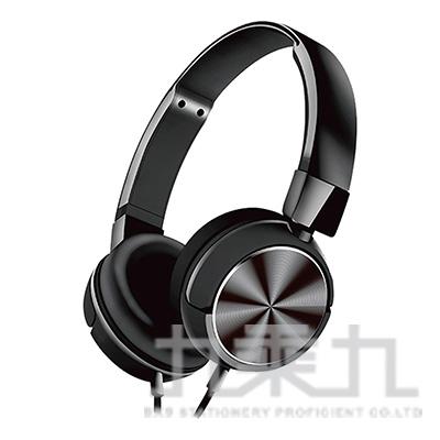 KINYO頭戴金屬立體聲耳麥 IPEM-7015