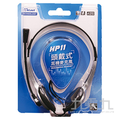 Kt.net HP11頭戴式耳機麥克風 KTSEP318-HP11