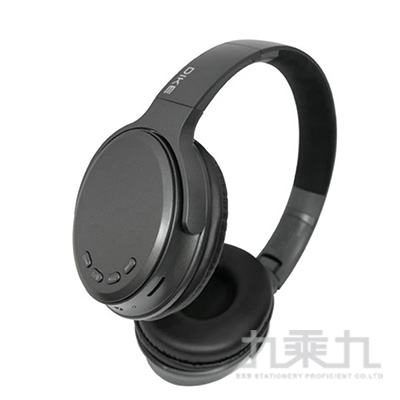DIKE  立體重低音頭戴式藍牙耳機麥克風 DEB600GY