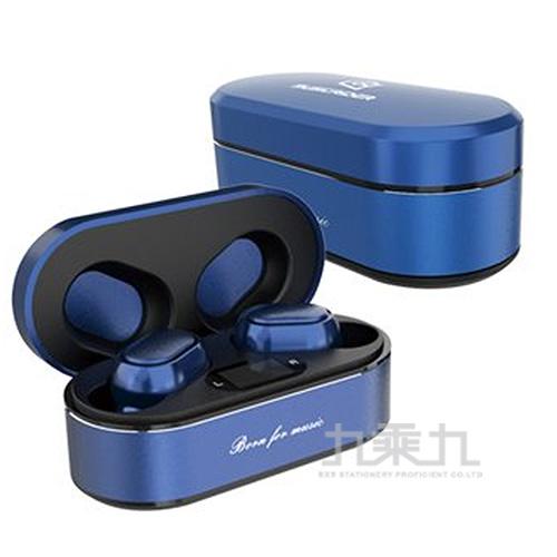 音樂騎士MusicRIDER T11真無線藍牙耳機-藍