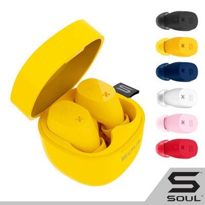 SOUL ST-XX高性能真無線藍牙耳機-莓紅