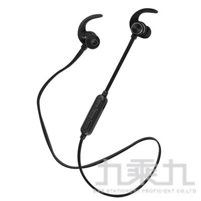 aibo BTM1磁吸入耳式藍牙V5.0運動耳機麥克風(黑)