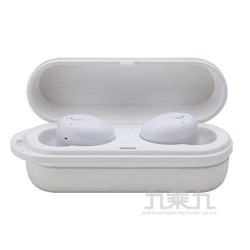 真無線藍牙耳機-白 MOE315-1