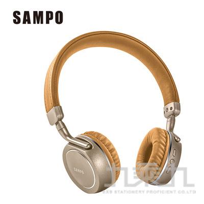SAMPO聲寶頭戴式藍芽耳麥 BEN850CH-1