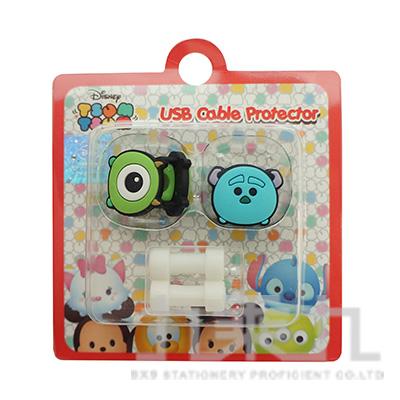 TsumTsum毛怪&大眼怪USB線造型套組 D31150070
