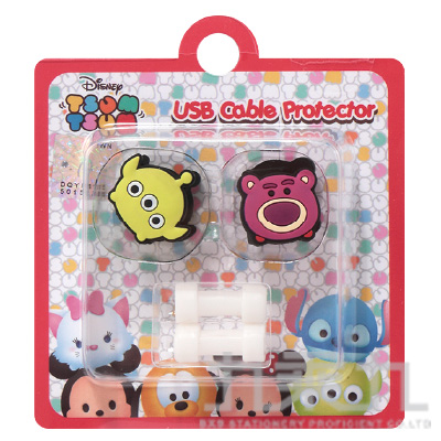 TsumTsum熊抱哥&三眼怪USB線造型套組 D31150071