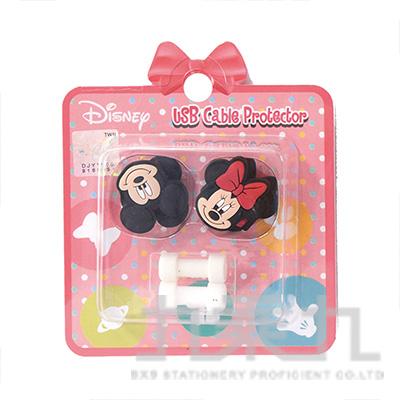 迪士尼USB線造型套組米奇&米妮 D31150080