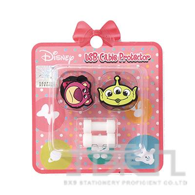 迪士尼USB線造型套組熊抱哥&三眼怪 D31150085
