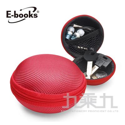 E-books U2牛津布硬殼收納包-紅 E-CWF039RD